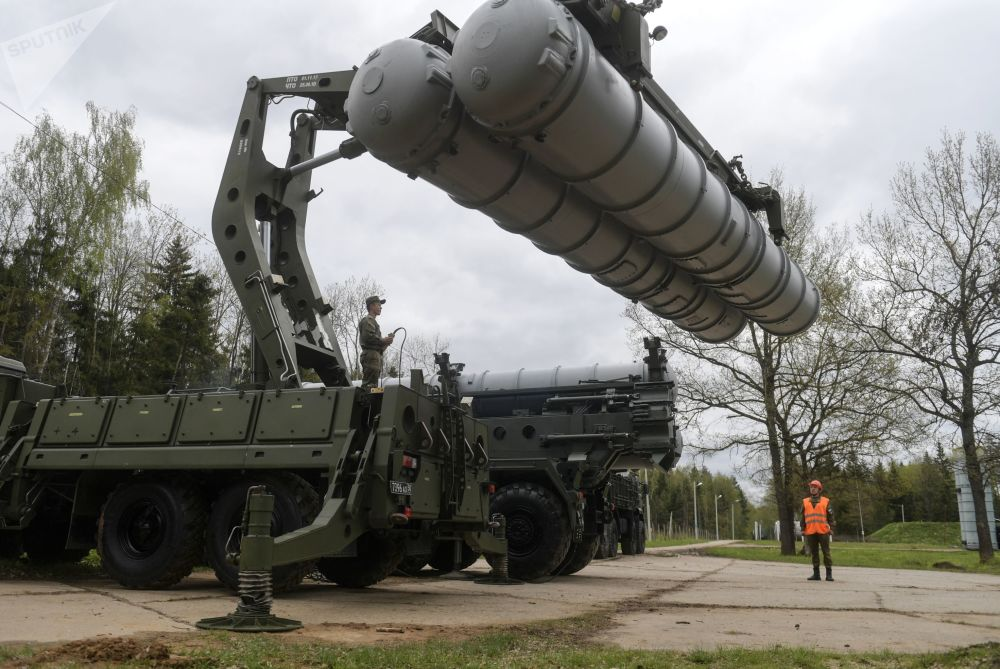Russian Anti-Aircraft Missile Troops Hold Drills in Moscow Region