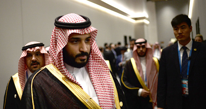 Saudi Arabia's Deputy Crown Prince and Minister of Defense Muhammad bin Salman Al Saud. (File)
