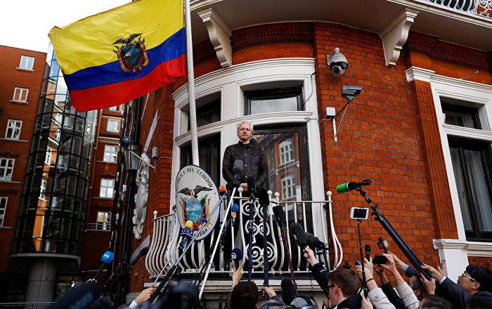 Ecuador Embassy Sets Rules for WikiLeaks' Assange Asylum - Reports - Sputnik I...