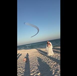 Blue Angels Play Wedding Crashers in Florida