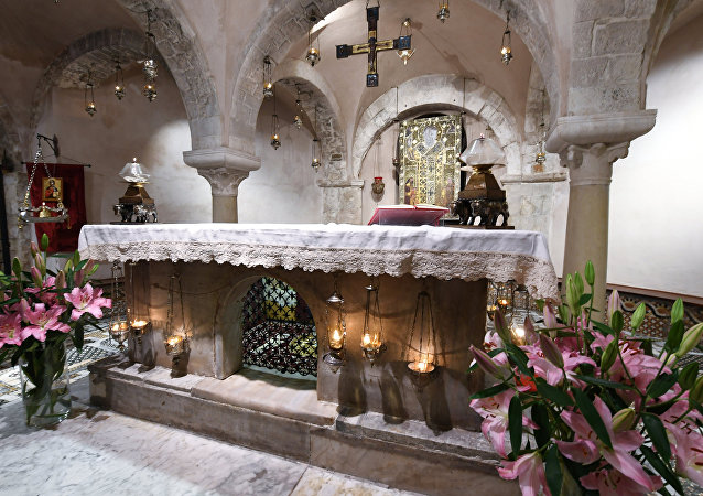 St. Nicholas relics in Bari