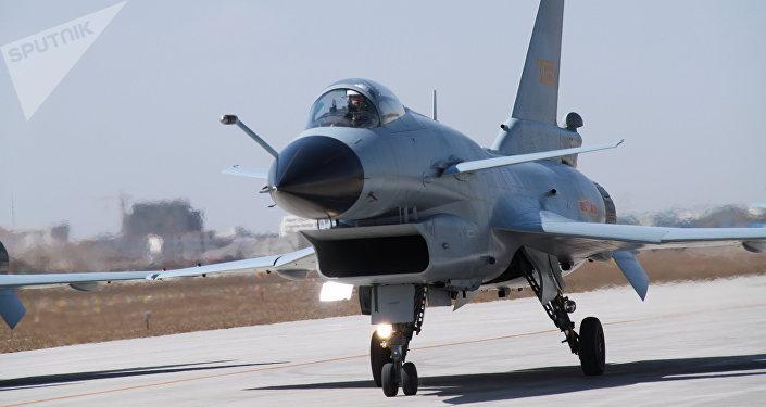 China's multirole fighter aircraft Chengdu J-10