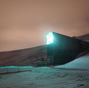 Global Seed Vault in Svalbard, Norway