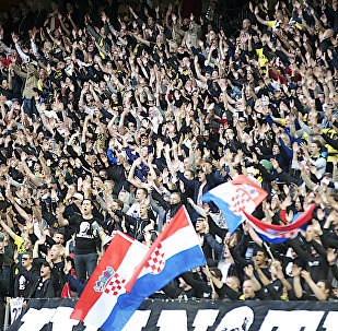 The Friends Arena — the home of Sweden's AIK club