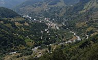 The city of Kvaisa in the Dzau district, South Ossetia. (File)