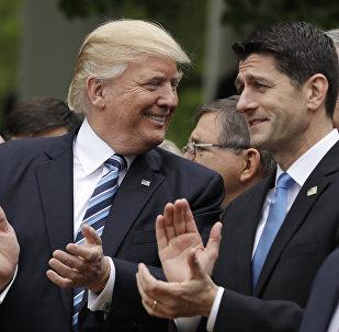 Donald Trump Paul Ryan Healthcare