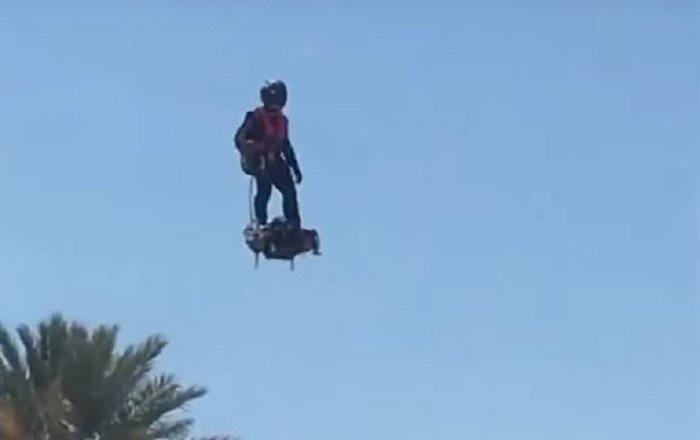 Reprise du Flyboard Air avec Franky Lake Havasu en Arizona