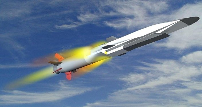 The Zircon hypersonic missile, artist's rendering.