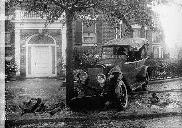 Penrose car, accident