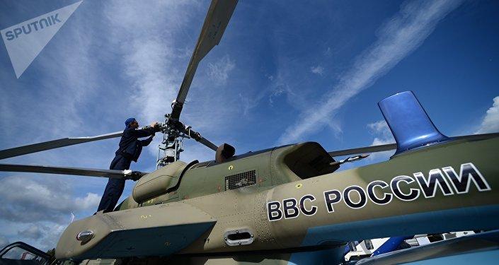 A Ka-226T light multipurpose helicopter