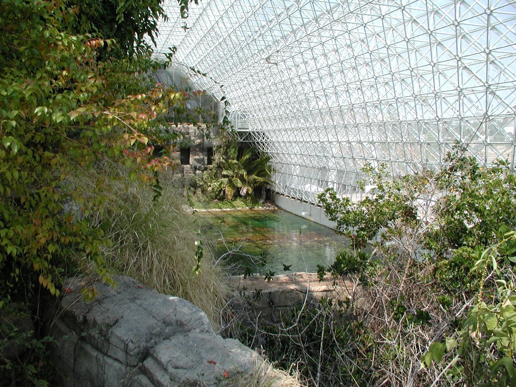Biosphere 2 from the inside