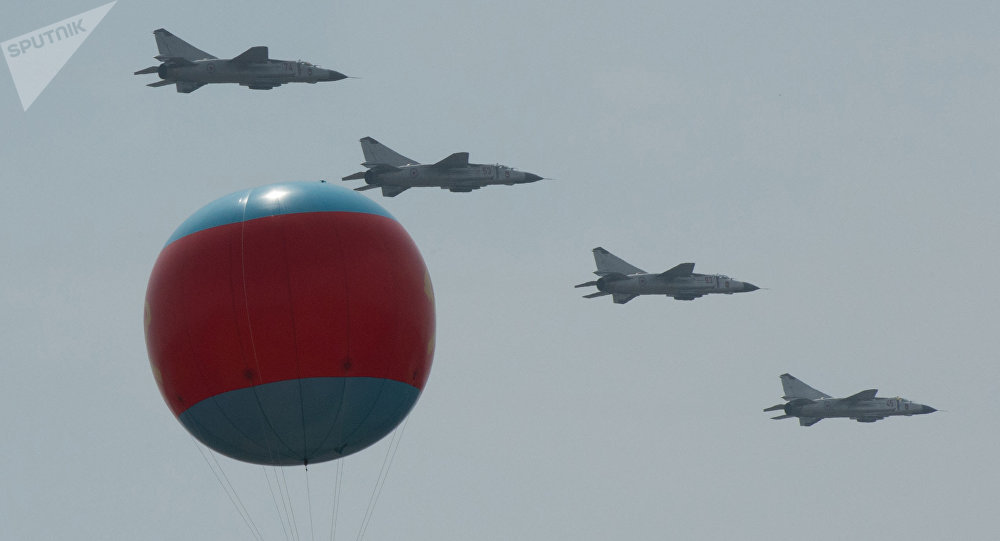 MiG 23 fighter jets during the military parade in Pyongyang (File)