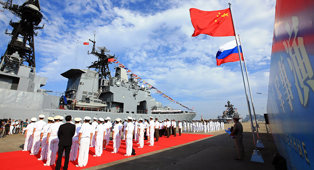 Russia, China Deepen Military Cooperation With U0027Mutually Beneficialu0027 Road  Map