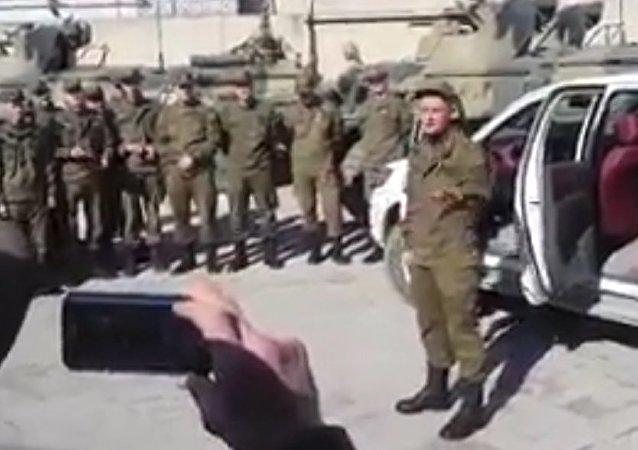 Russian rap in Aleppo