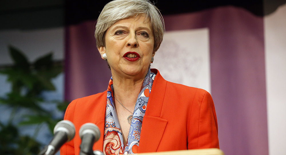 Shock UK election exit poll sees Theresa May losing parliament majority