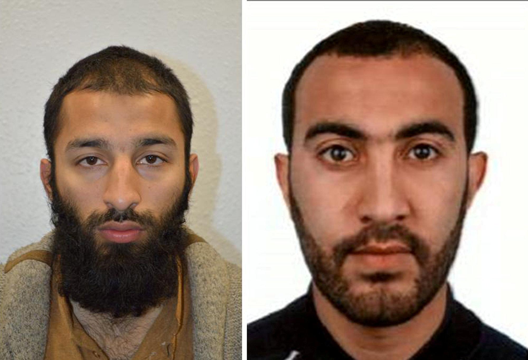 Khuram Shazad Butt (left) and Rachid Redouane (right)