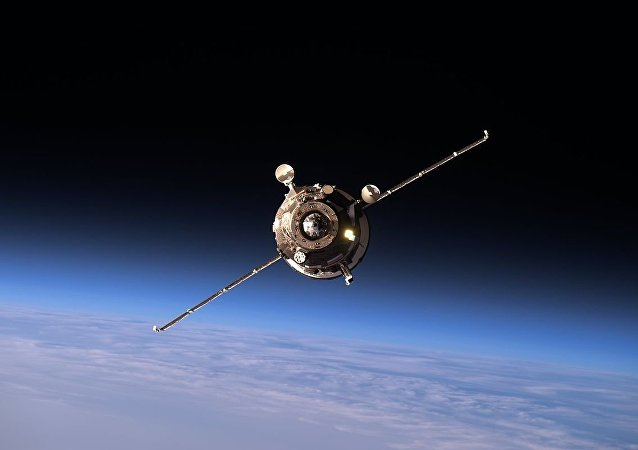 Progress MS-02 approaching the ISS