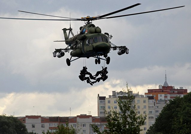 2017 Slavic Brotherhood anti-terror drill