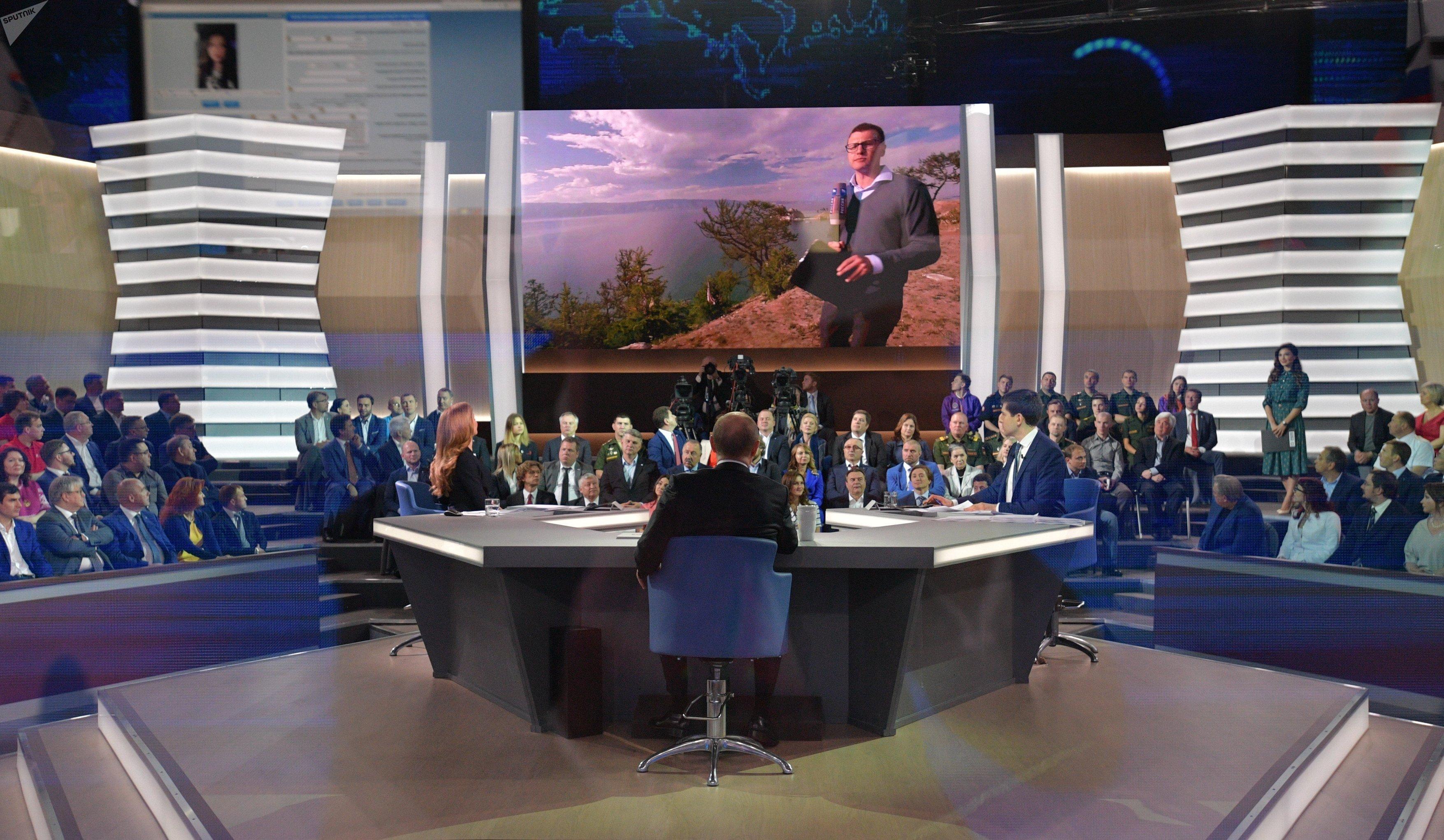 Direct Line with Vladimir Putin