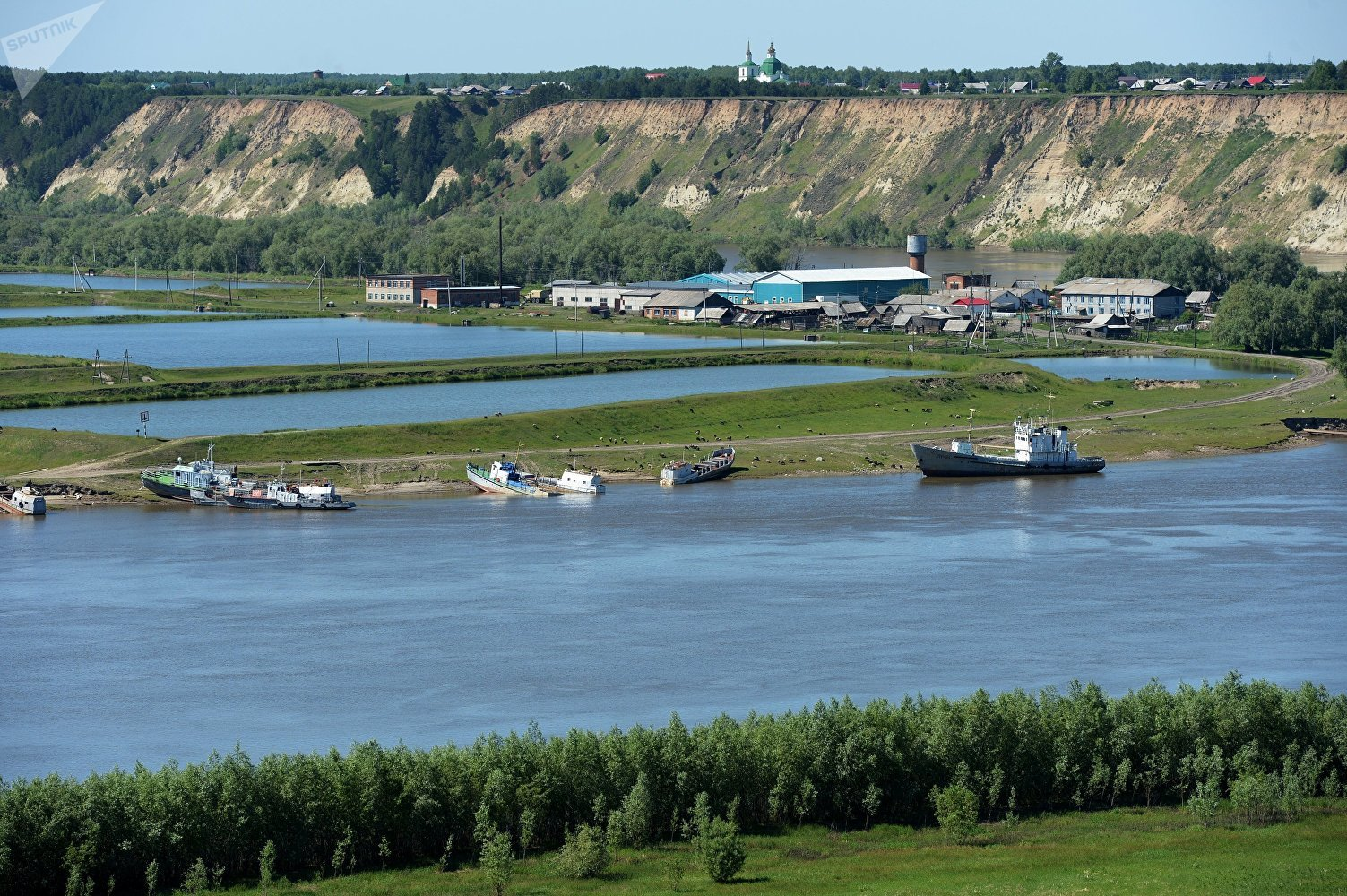 The fishing industry of Abalak Znamensky Monastery in the village of Abalak