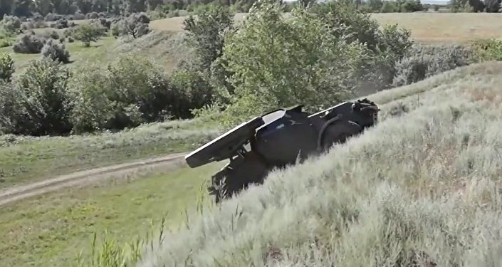 New All-Terrain Special Forces Assault Vehicle