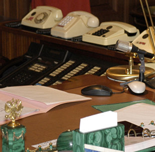 Office of the Russia President Vladimir Putin. (File)