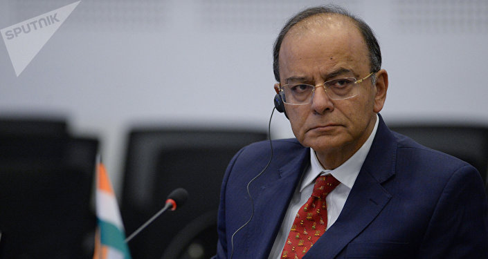 Indian Defense Minister Arun Jaitley.