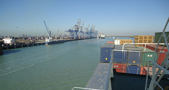 Cargo terminal of Mundra Port
