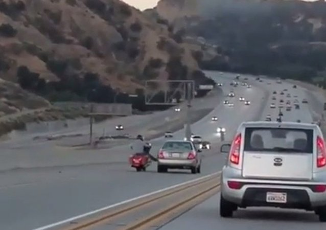 California road rage incident, June 2017