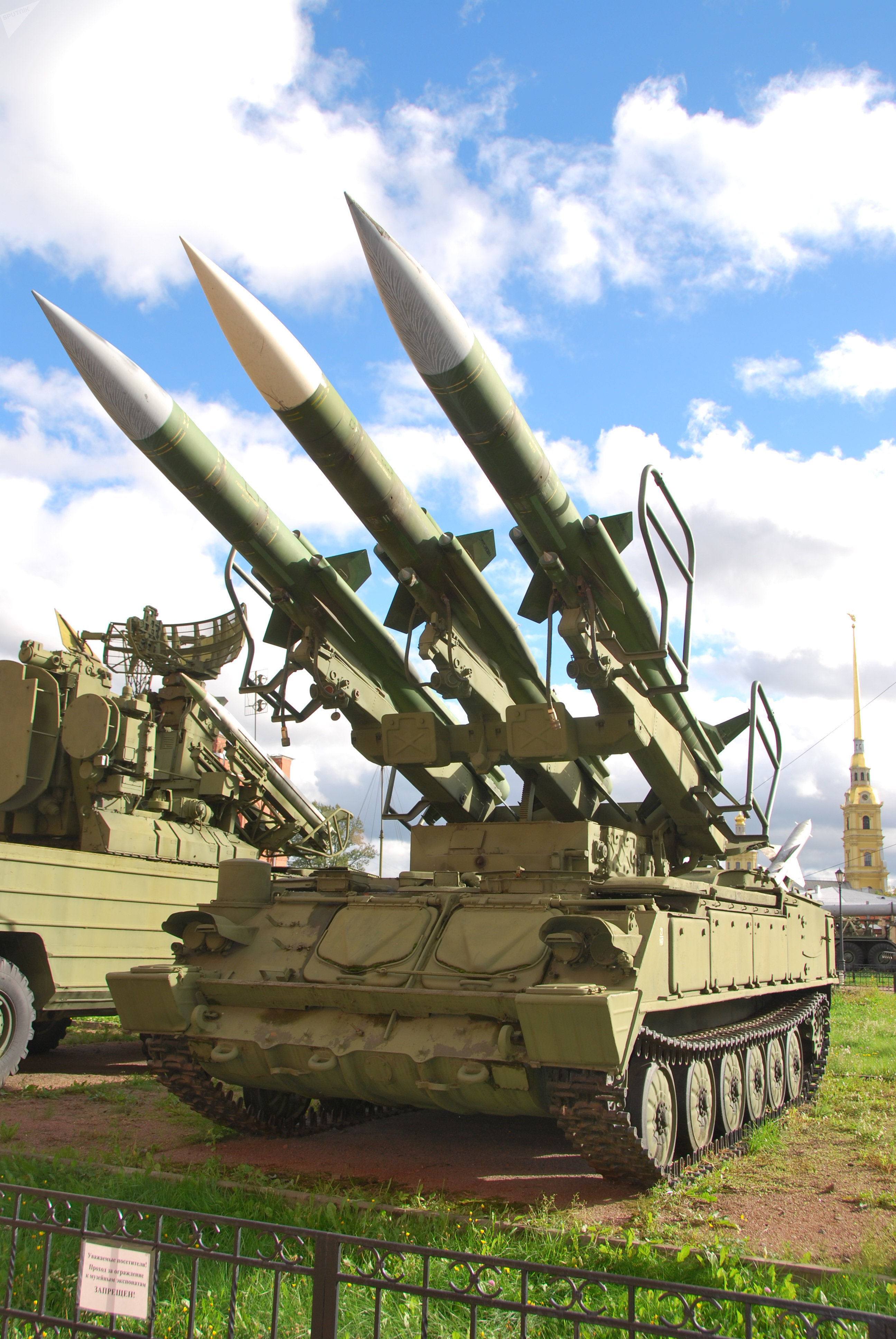 The Kub air defense system