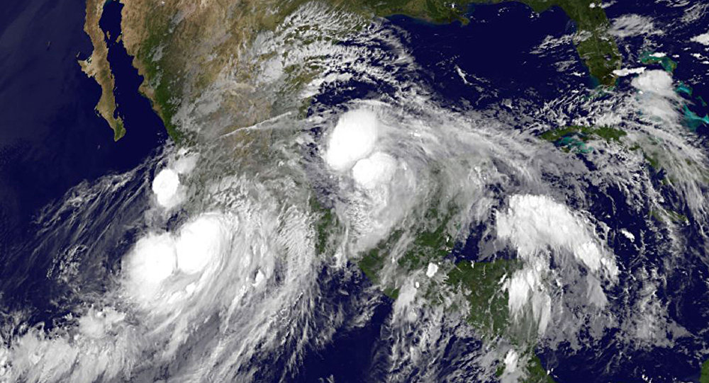A tropical storm, known as Dora, has formed off the Pacific coast of Mexico, and is gaining strength, Mexico's National Meteorological Service (Servicio Meteorologico Nacional)