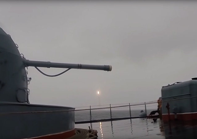 The Yury Dolgoruky strategic missile submarine has launched a Bulava ballistic missile from a designated sector of the Barents Sea towards the Kura range in the Kamchatka Peninsula