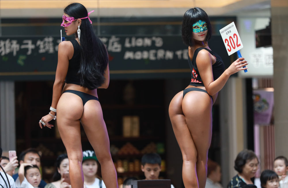 Women's Beautiful Buttock: China Holds Own Version of Miss BumBum Contest