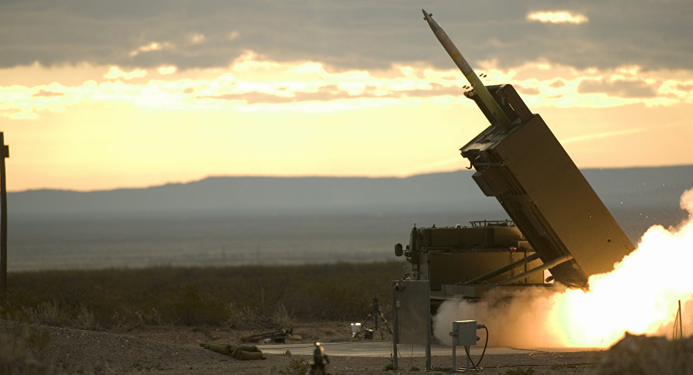 The final pre-acceptance trial of the GMLRS (Guided Multiple Launch Rocket System) at White Sands Missile Range, New Mexico, USA