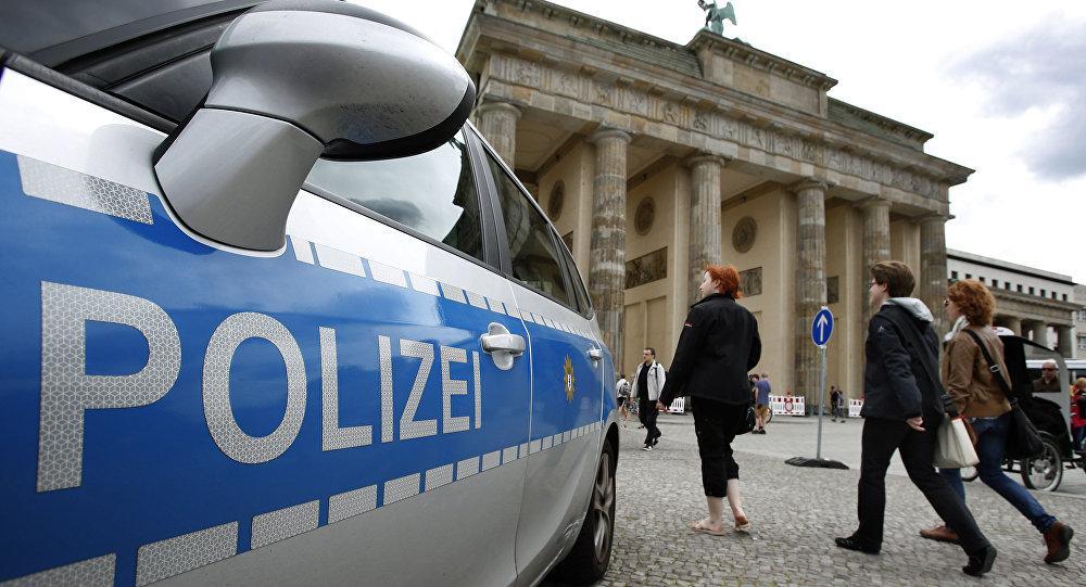 Berlin Police Car File Photo