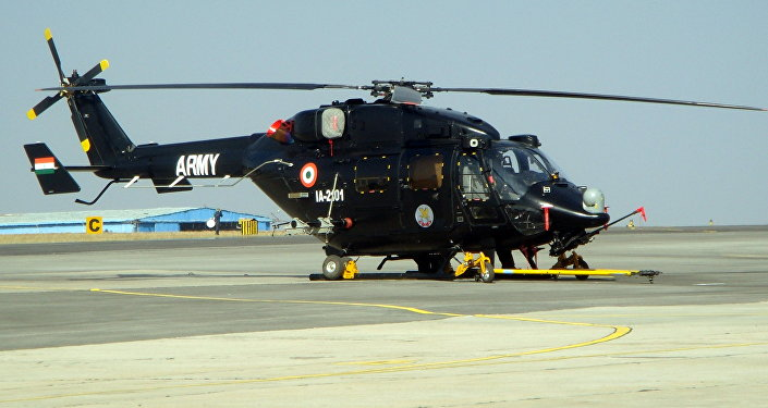 HAL Rudra helicopter