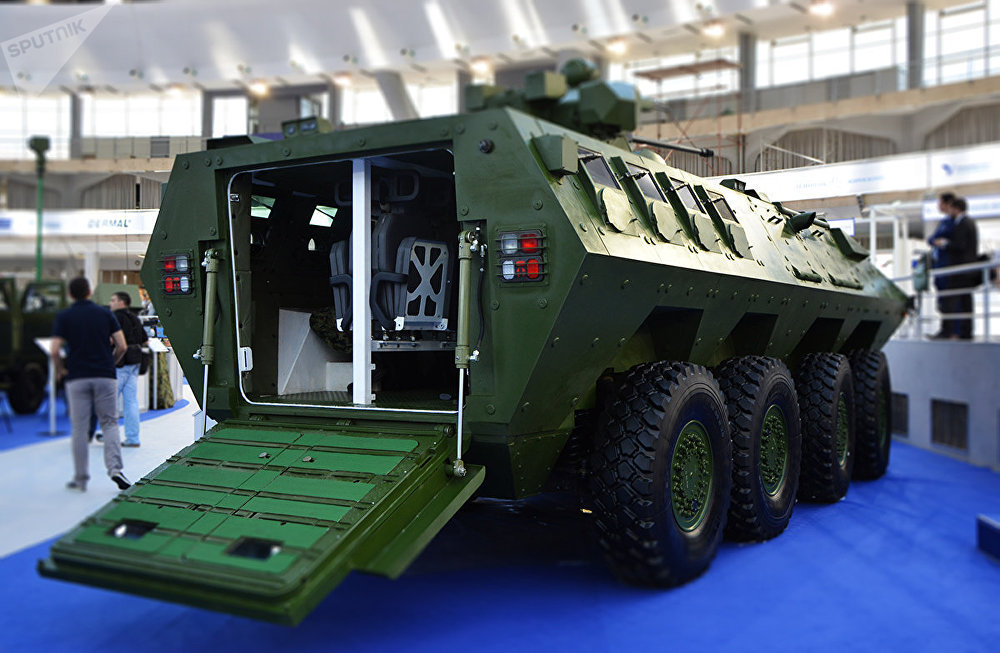 The multi-purpose armored vehicle Lazar