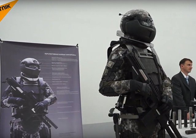 The Next-Generation Combat Suit Unveiled In Moscow