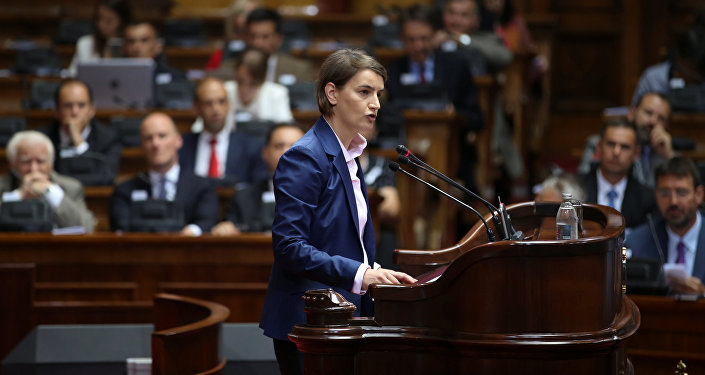 Serbia Lawmakers Elect First Female, Openly Gay Premier