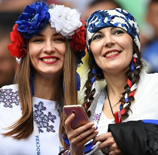 Female Football Fans Rock 2017 Confederations Cup in Russia