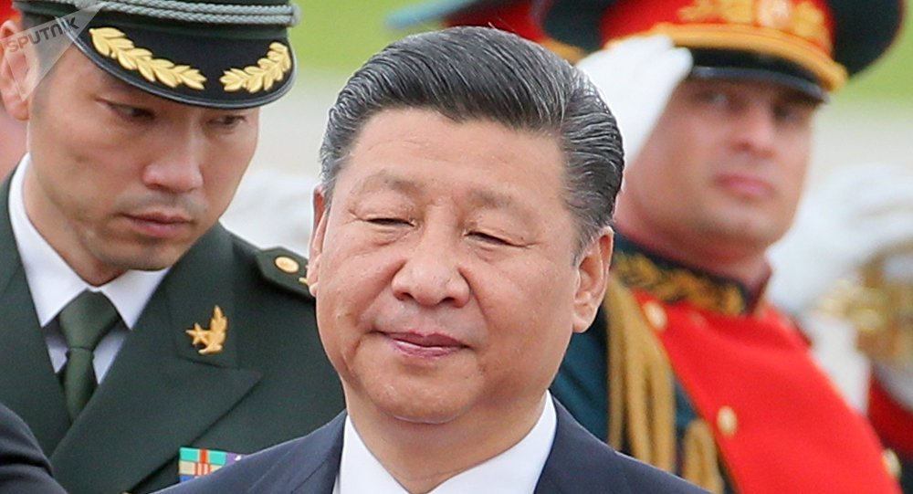 Chinese President Xi Jinping arrives in Moscow