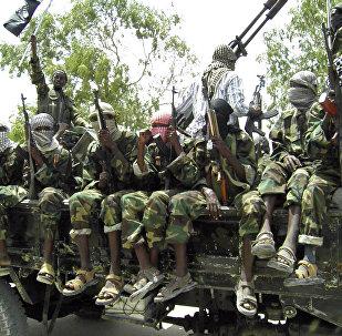 Al-Shabaab fighters. (File)