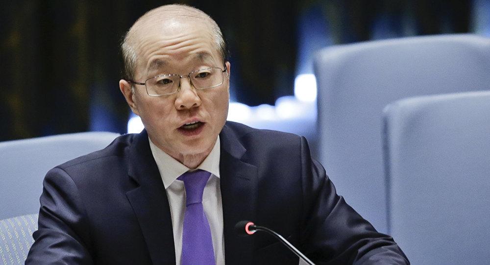 China's United Nations Ambassador Liu Jieyi