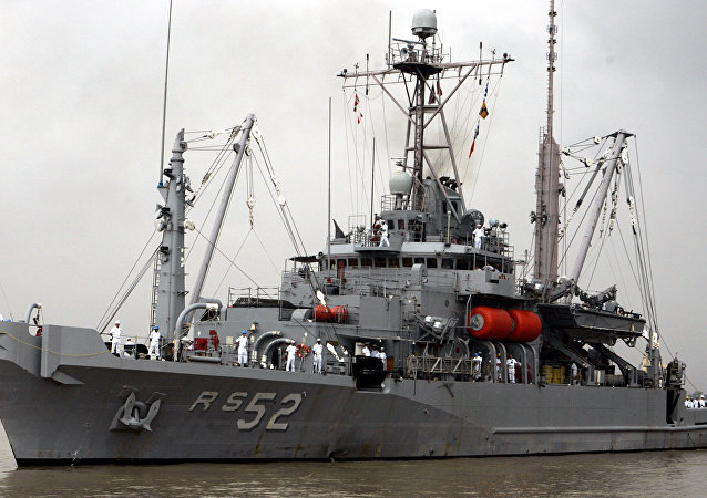 US Naval ship USS Salvor. (File)
