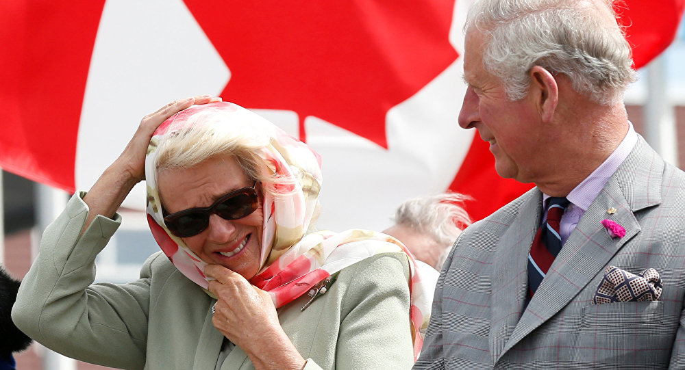 Inuit throat singing leaves Prince Charles and Duchess of Cornwall in stitches