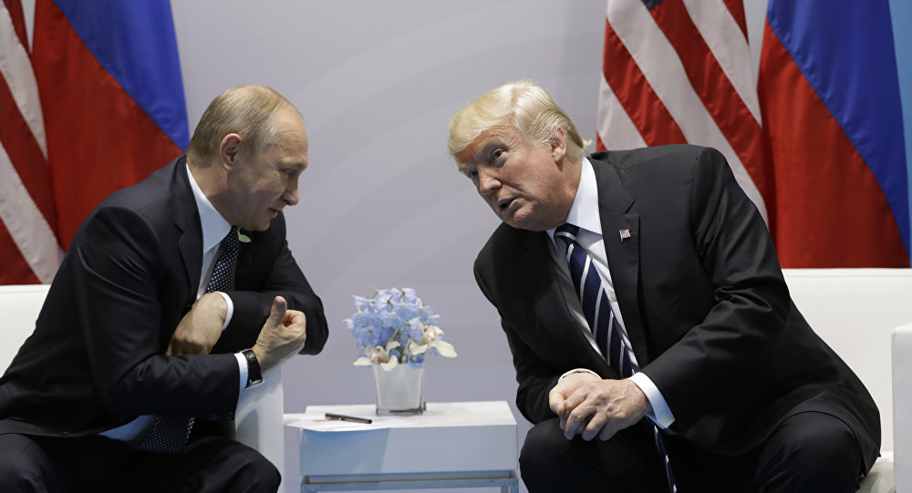 Trump Thanks Putin For Kicking US Embassy Staff Out of...
