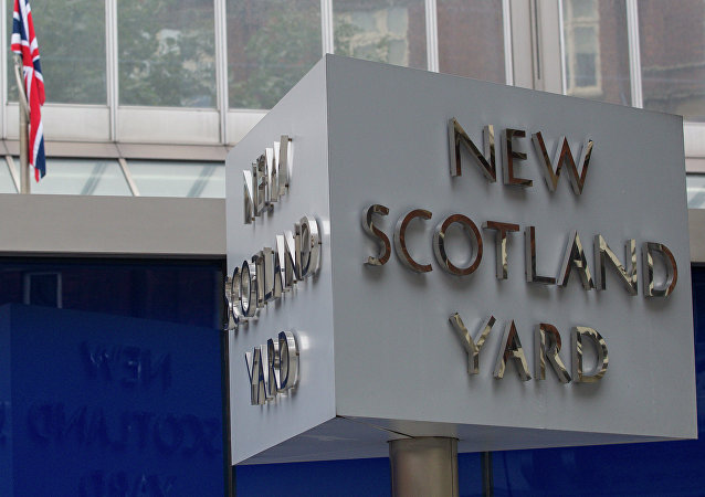 Britain's Metropolitan police headquarters, also known as Scotland Yard, is pictured in central London, on September 4, 2014