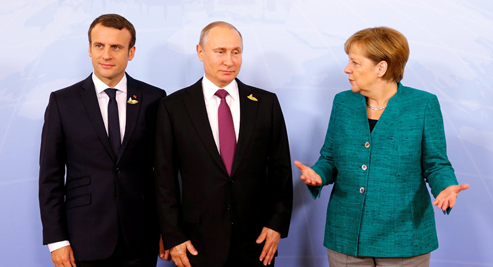 Putin, Merkel, Macron Confirm Commitment to Cooperate With Iran – Kremlin