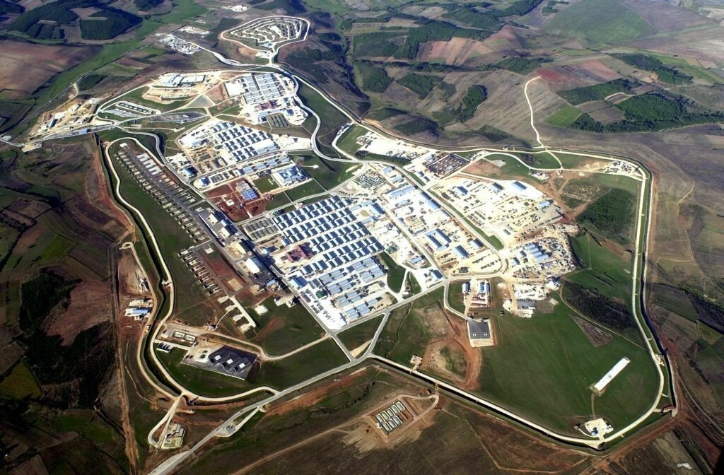 Camp Bondsteel in Kosovo