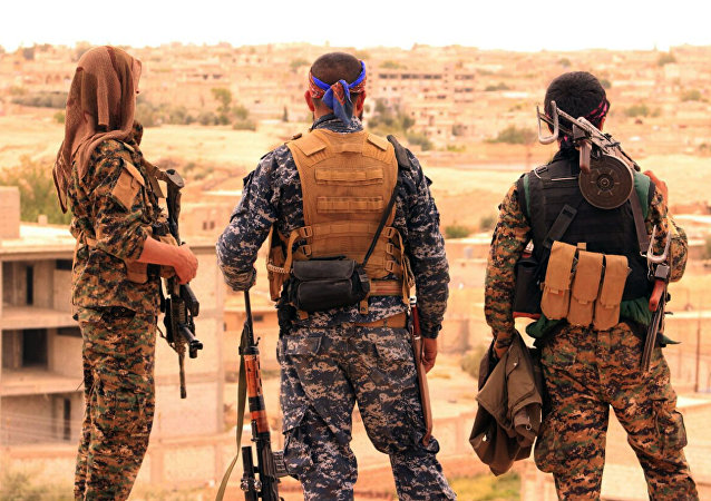 Syrian Democratic Forces (SDF)(File)